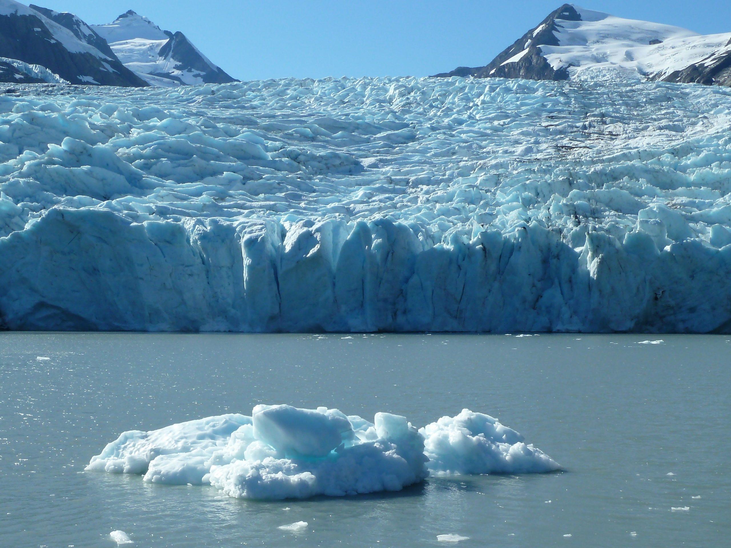 Radreise Alaska 2010 - Portage Glacier