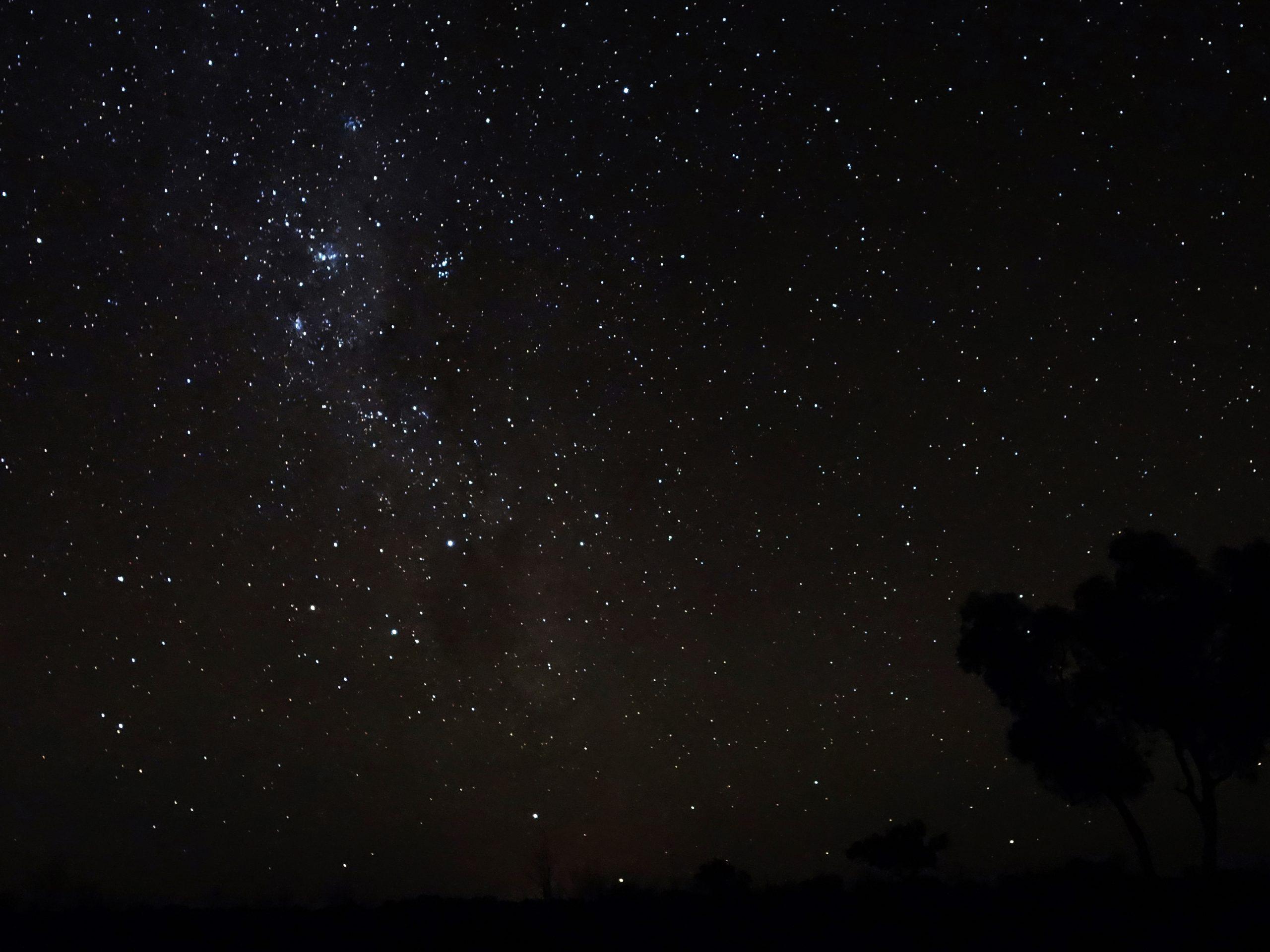 Radreise Australien 2016 - Sternenhimmel im Outback