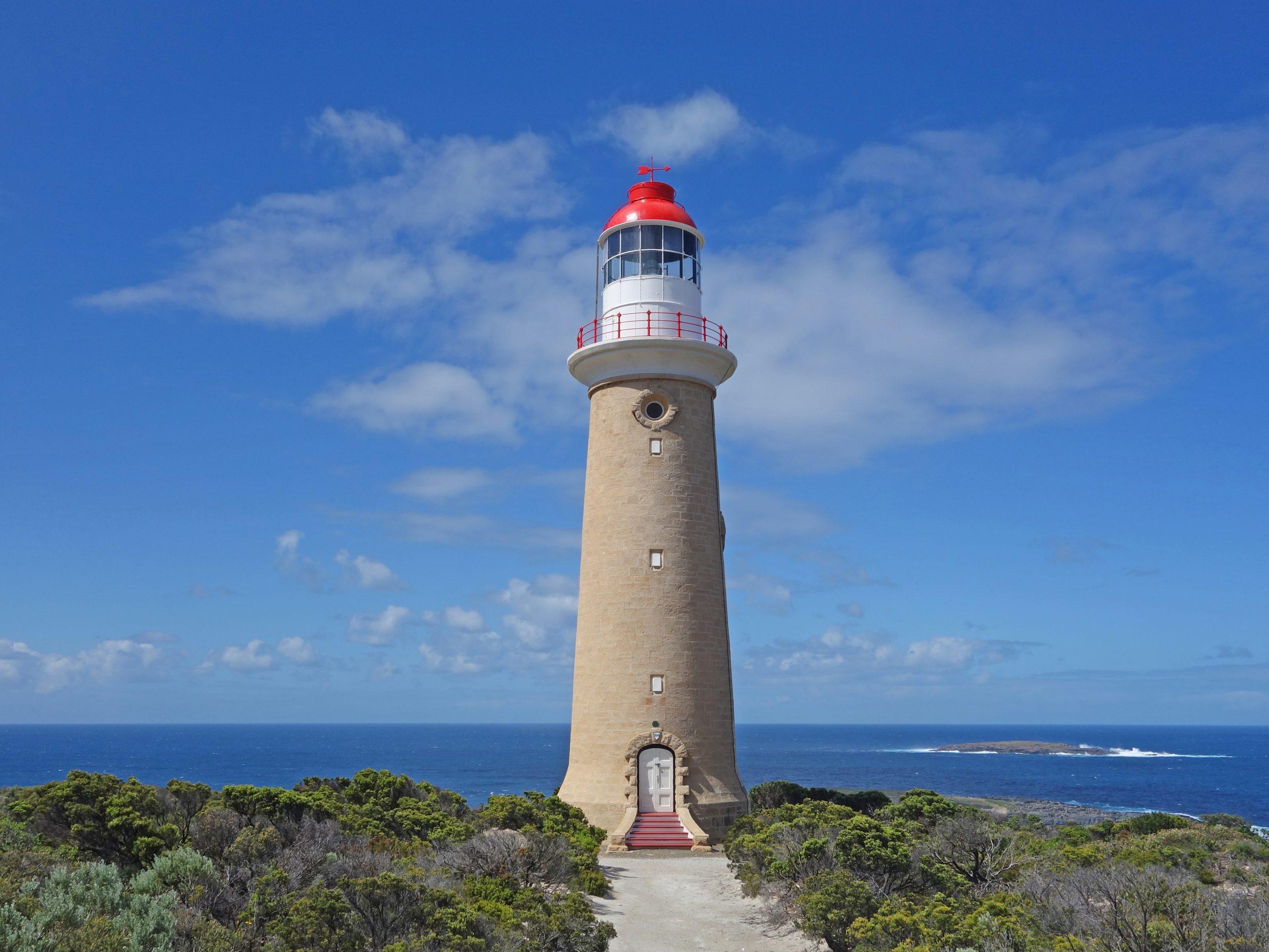 Radreise Australien 2016 - Kangaroo Island - Leuchtturm am Cape du Couedic