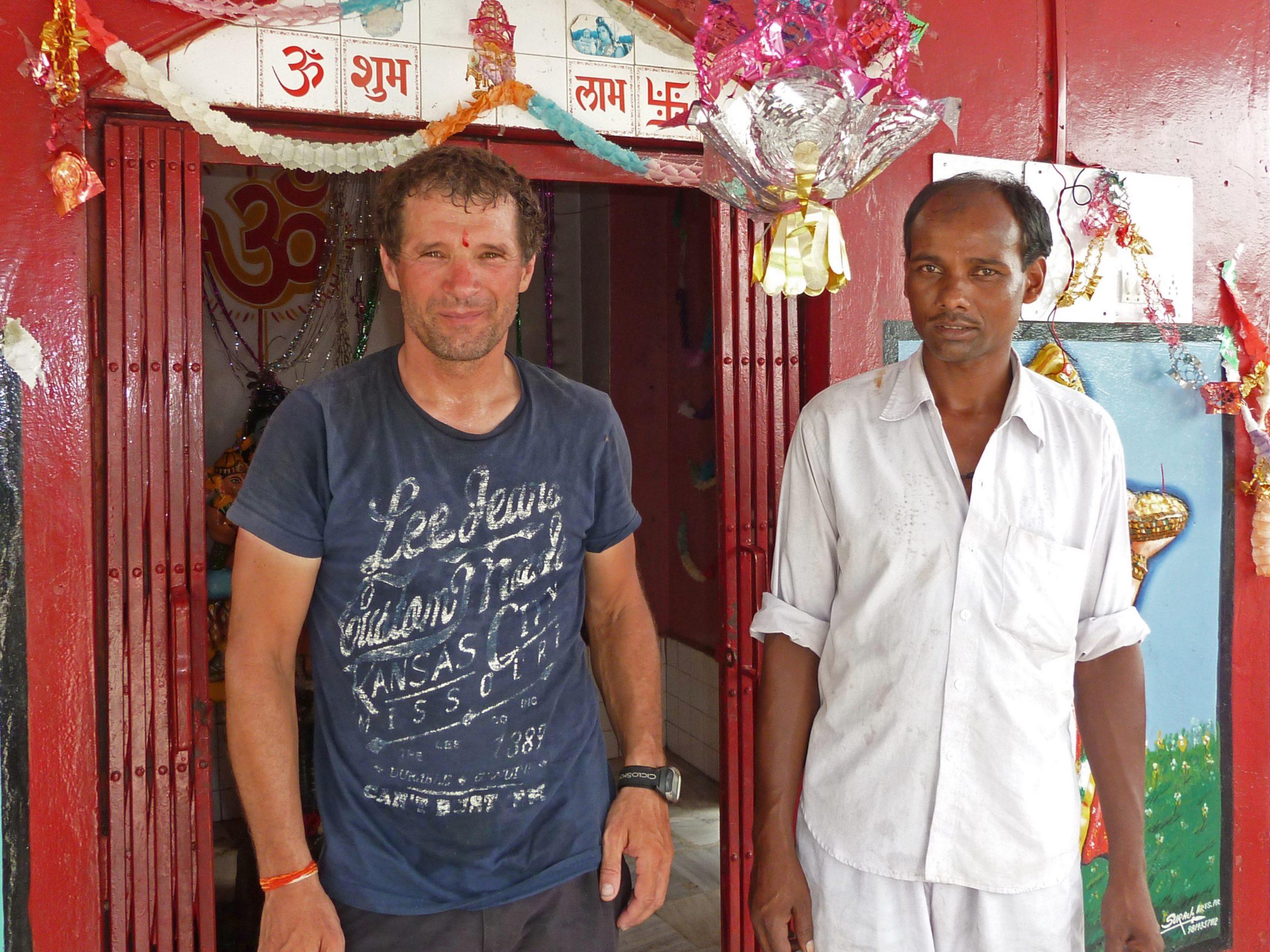 Radreise Ladakh 2012 - Tika Segenszeichen