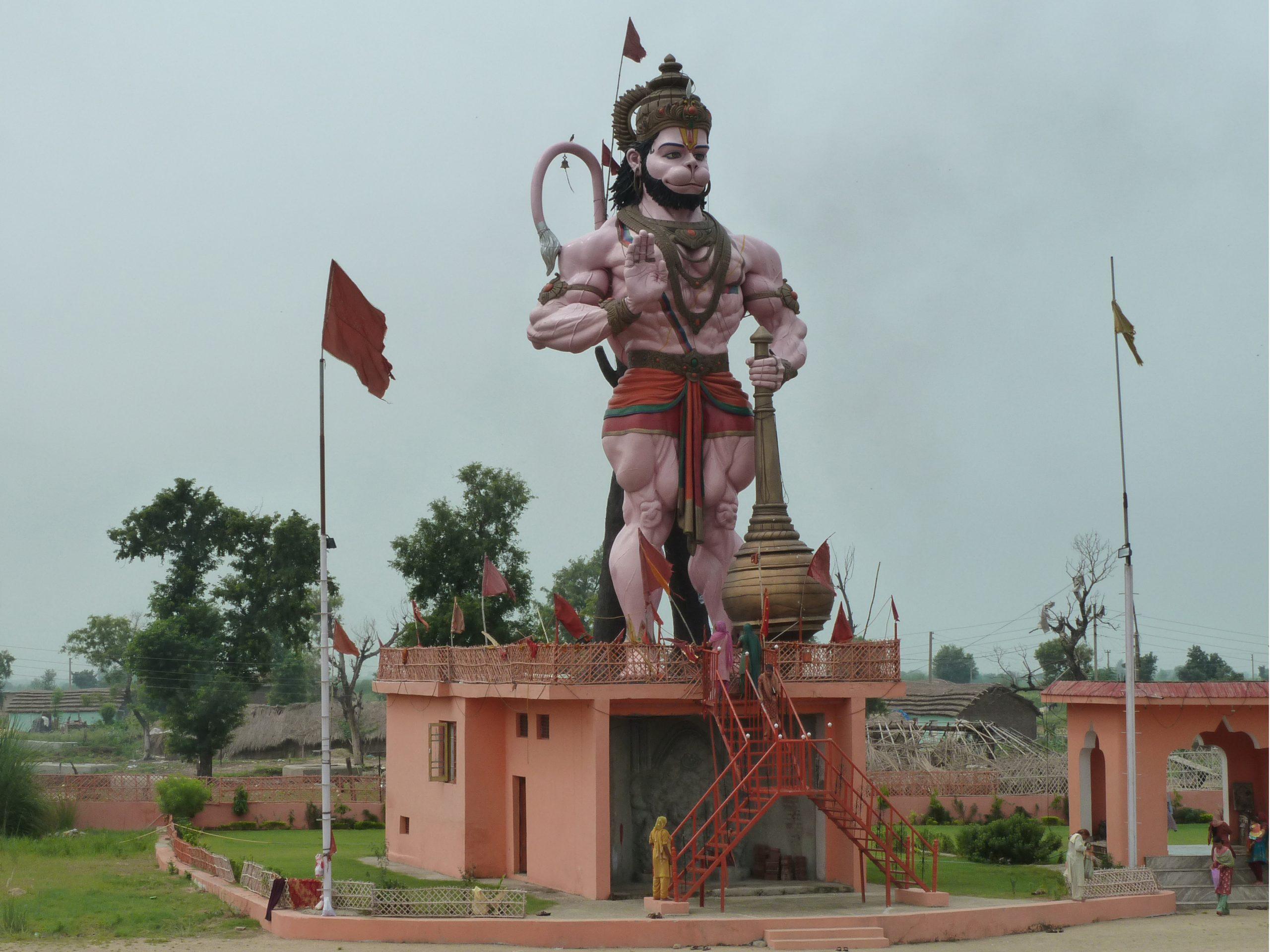 Radreise Ladakh 2012 - Hanuman