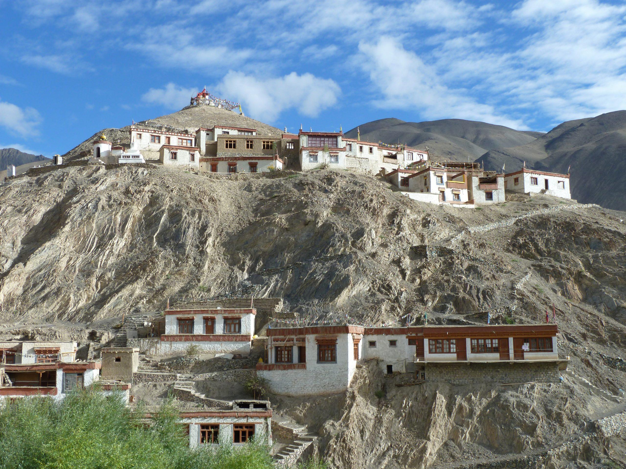 Radreise Ladakh 2012 - Kloster Lamayuru