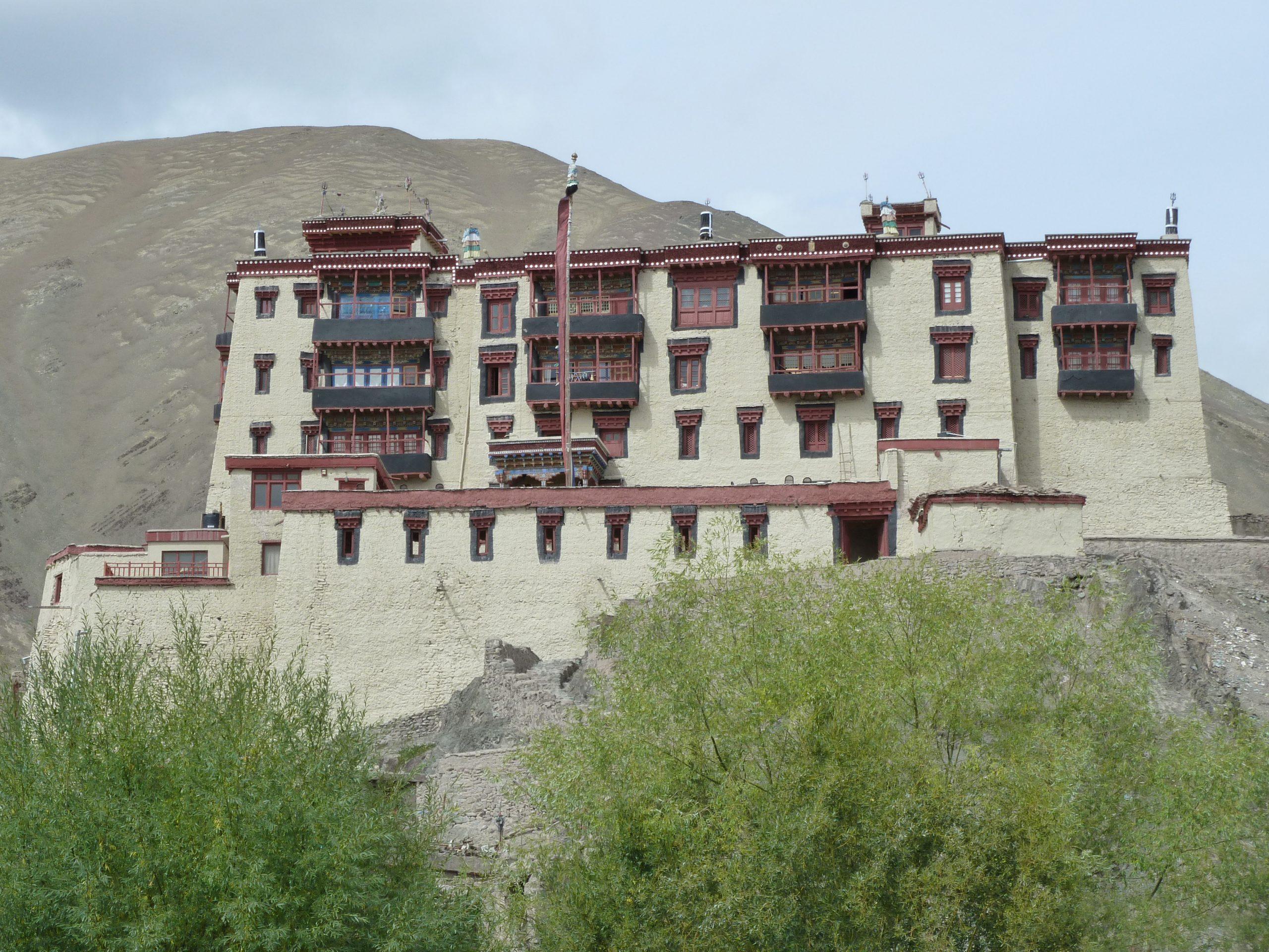 Radreise Ladakh 2012 - Schloss des letzten Königs von Ladakh