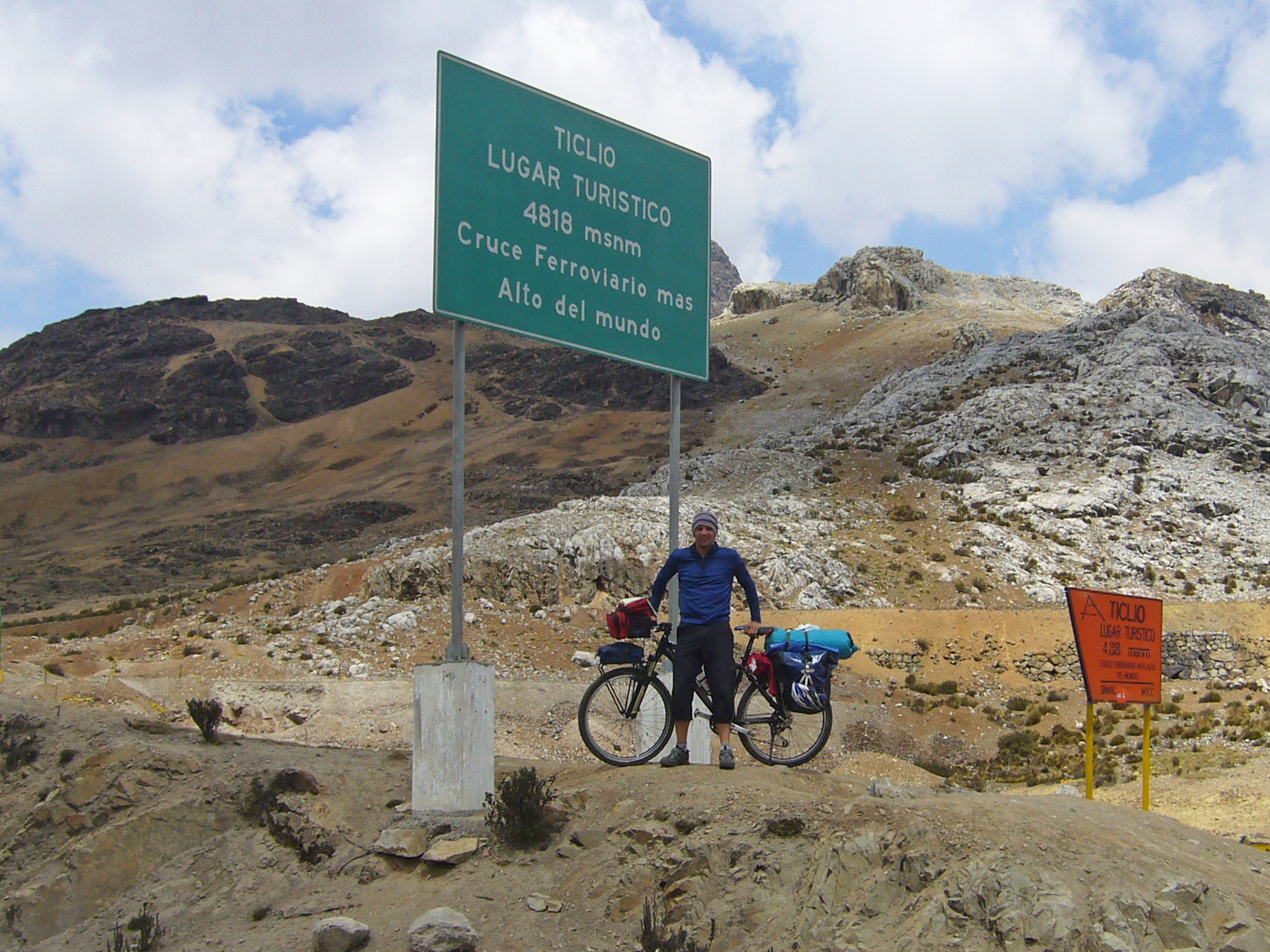 Radreise Peru 2008 - Abra de Anticona (4.818m)