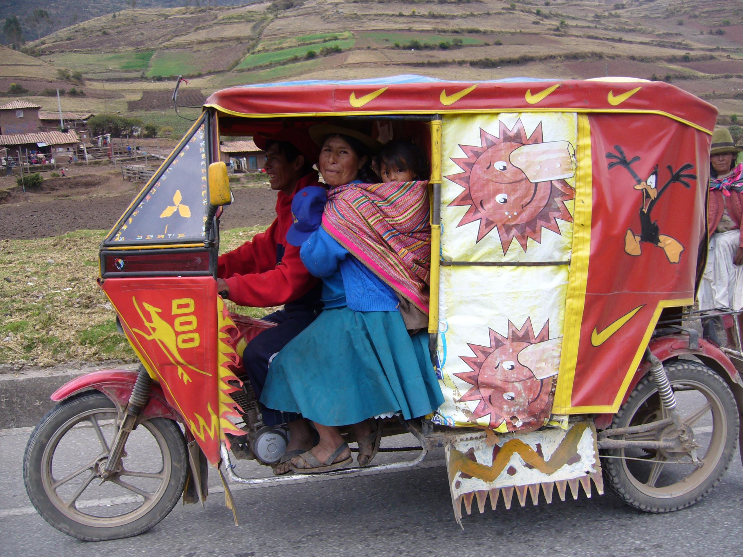 Radreise Peru 2008 - Motor-Rikscha