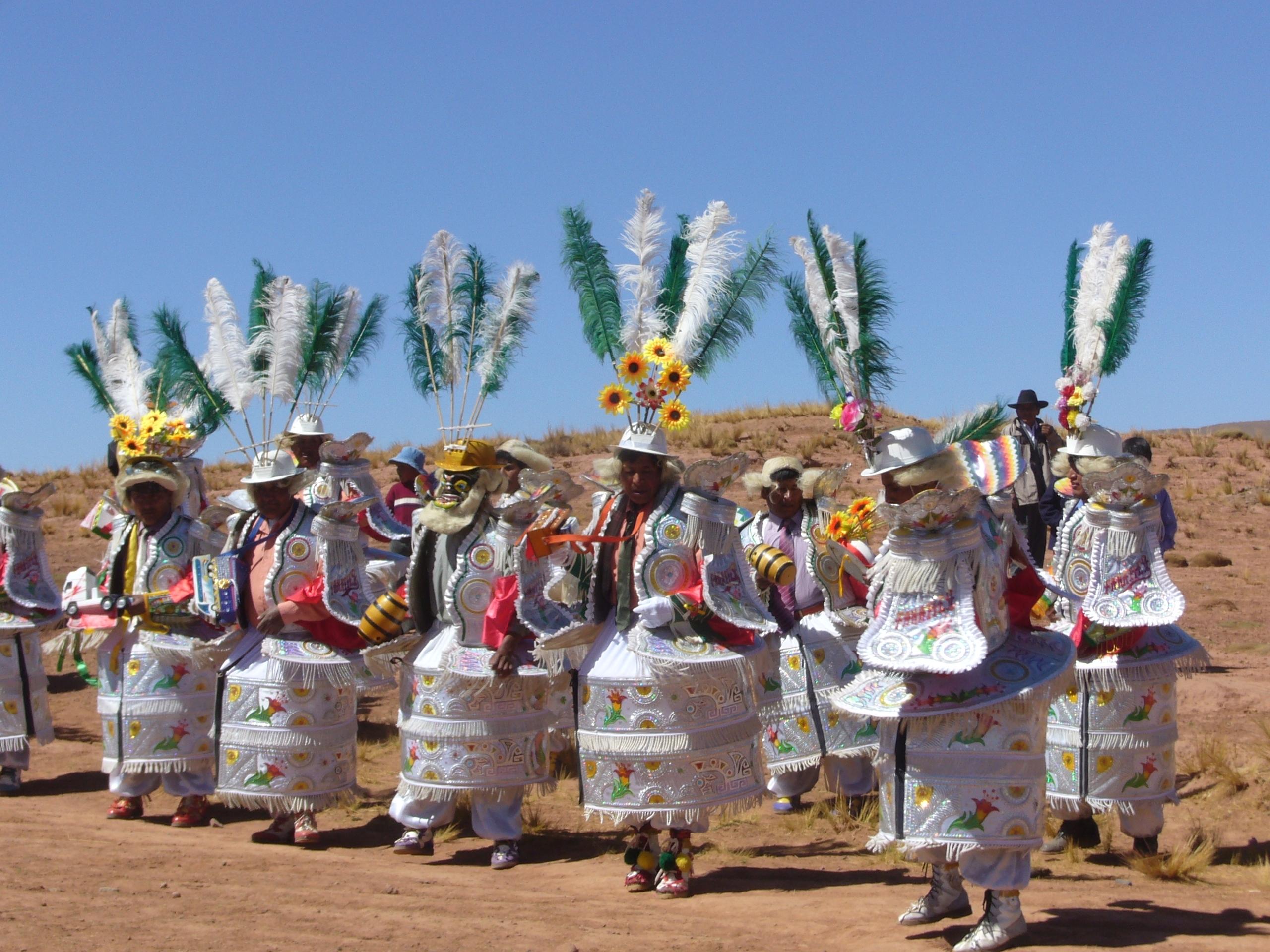 Radreise Peru 2008 - Fiesta bei Laja