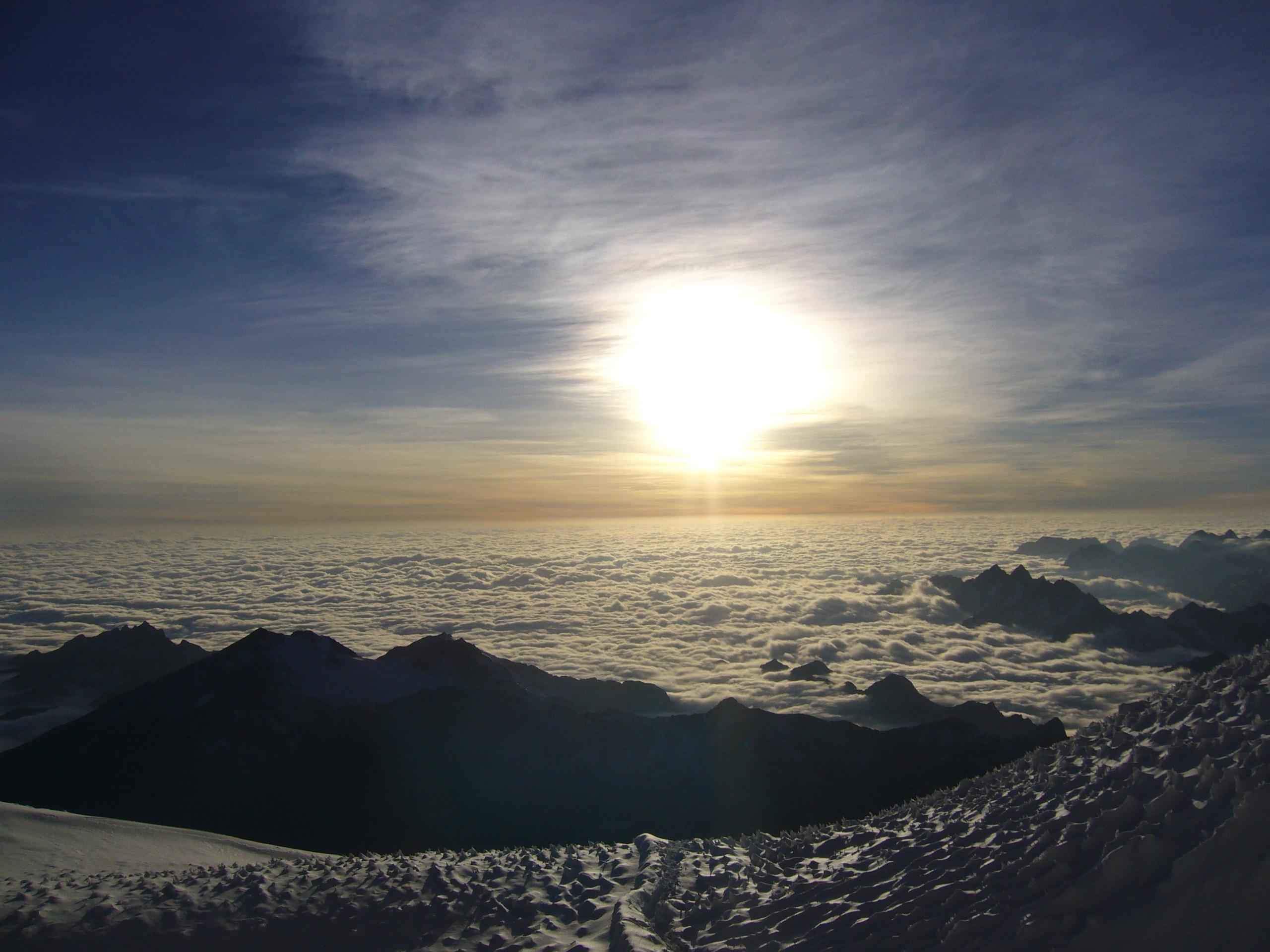 Radreise Peru 2008 - Aufstieg zum Huayna Potosi (6.088m)
