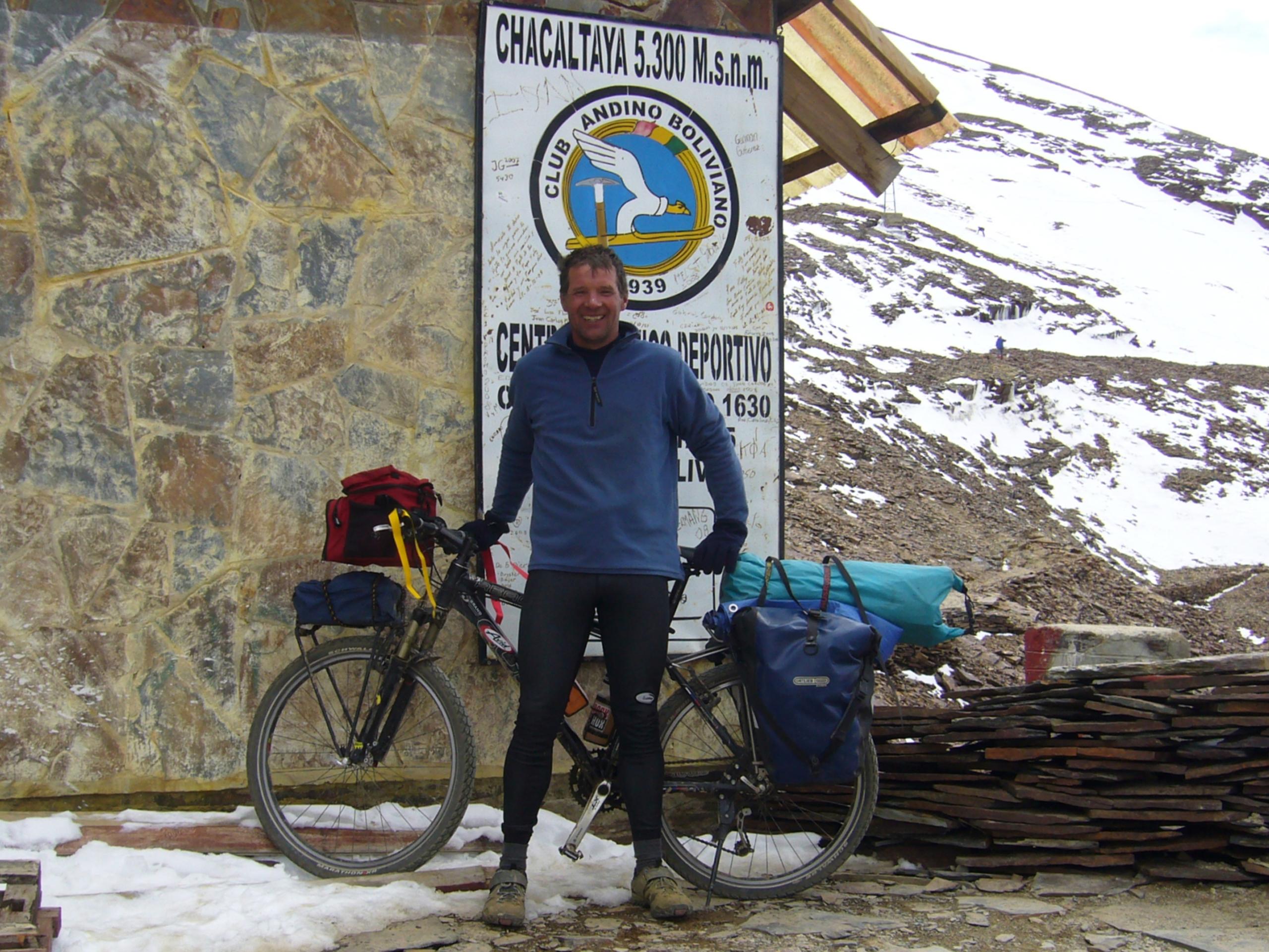 Radreise Peru 2008 - Chacaltaya - (5.300m)