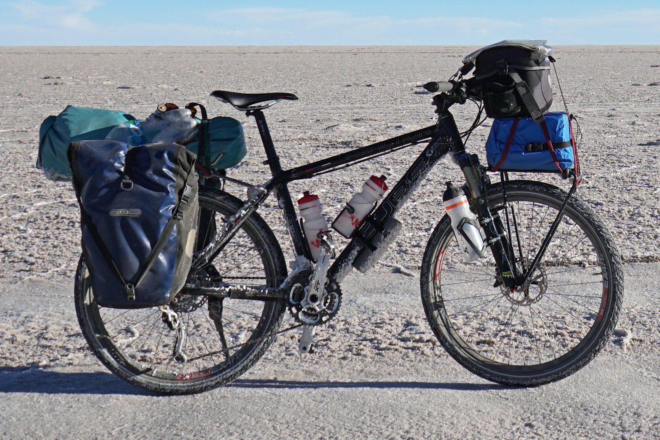 Radreise Südamerika 2019 - Salar de Uyuni - mein Reiserad