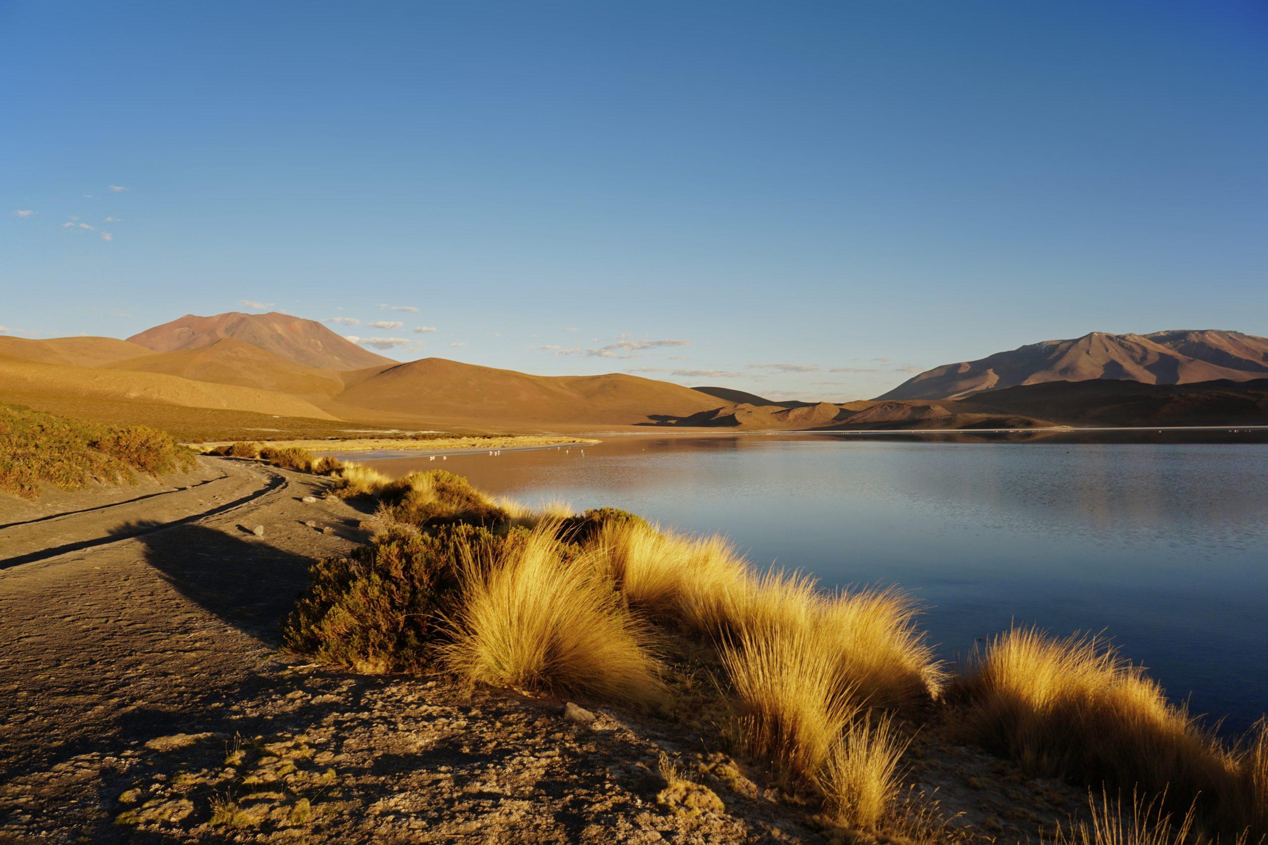 Radreise Südamerika 2019 - Sonnenaufgang an der Laguna Ramaditas