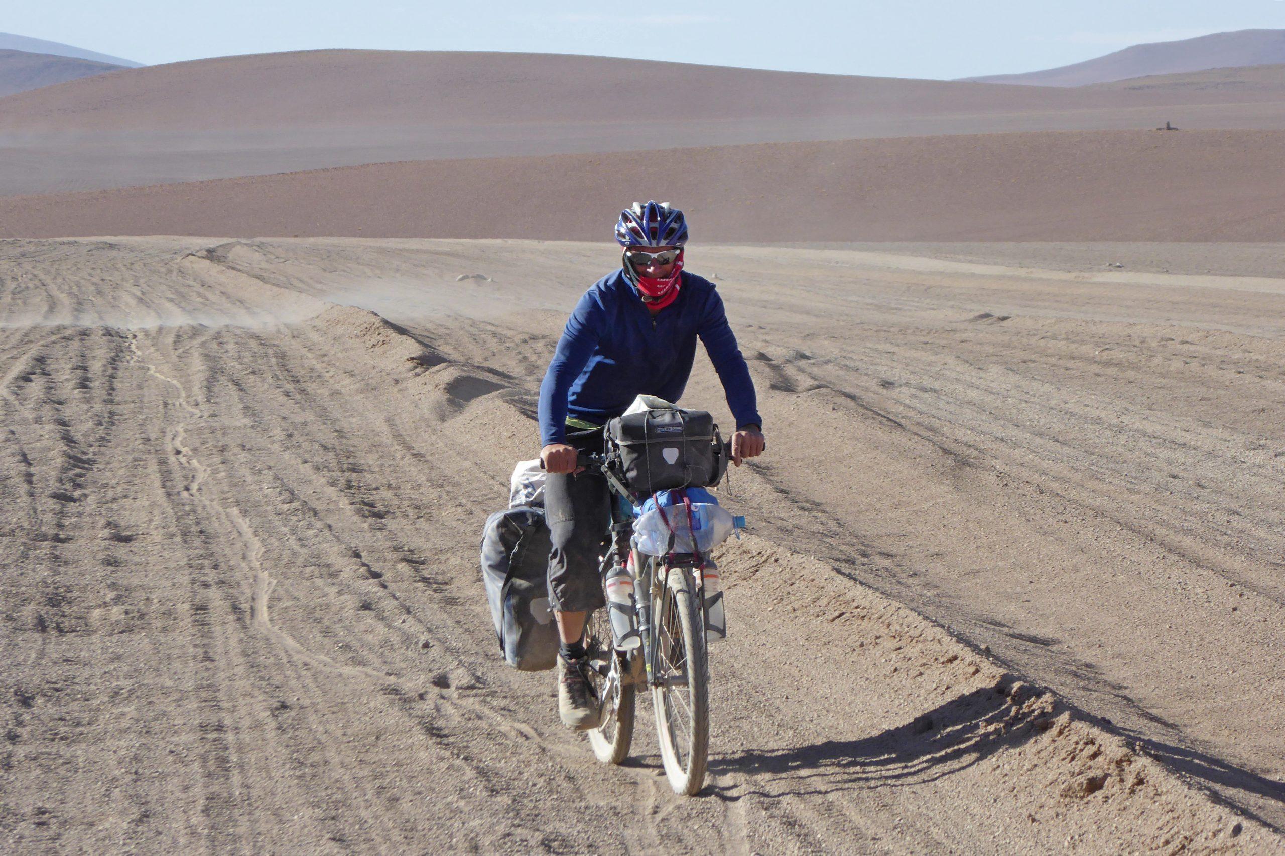 Radreise Südamerika 2019 - Siloli-Wüste