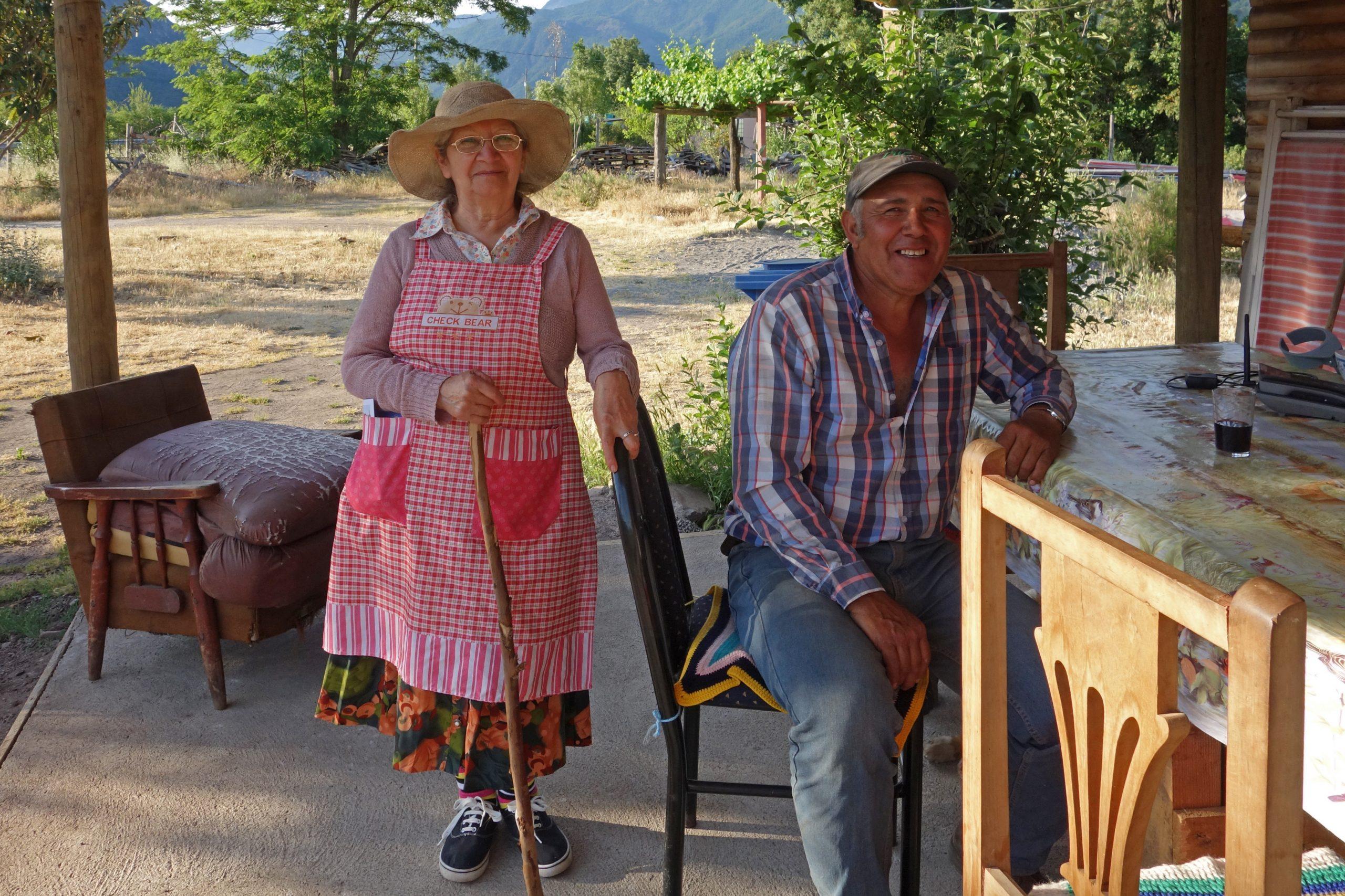 Radreise Südamerika 2019 - Altes Ehepaar